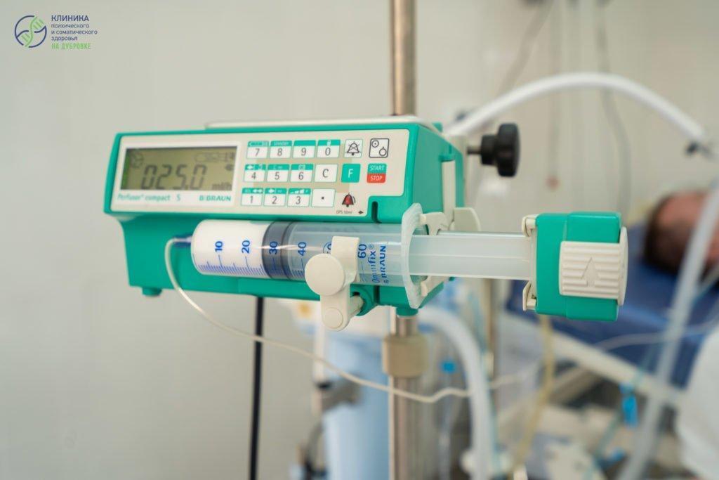 прибор, с помощью которого происходит введение медикаментозной продукции в разных условиях на протяжении долгого периода времени.