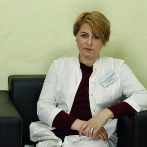 Доктор Хамроалиева Гулмоха Набиджоновна - анестезиолог-реаниматолог, нарколог